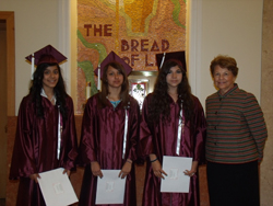 annual scholarships at the St. Bruno School Graduation Mass